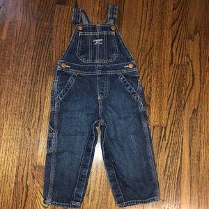 Boys OshKoshB'gosh overalls size 18 months